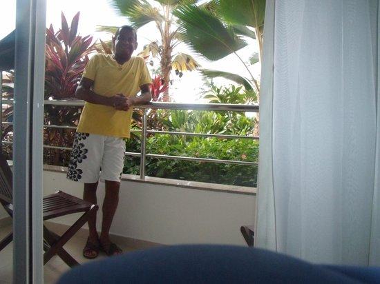 Aquaria Natal Hotel : varanda do apartamento