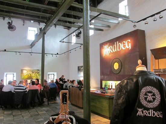 THE OLD KILN CAFE AT THE ARDBEG DISTILLERY