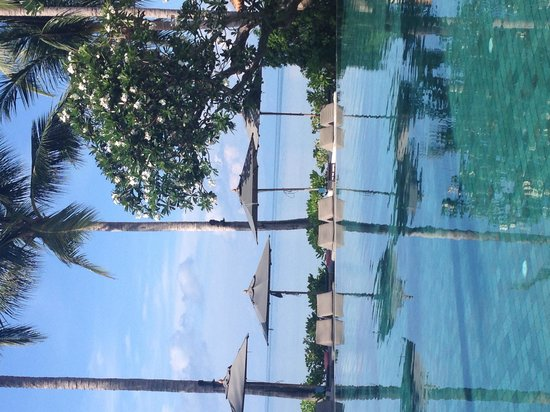 Le Meridien Koh Samui Resort & Spa : Our breakfast view each morning