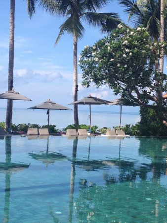 Le Meridien Koh Samui Resort & Spa : Our breakfast view each morning