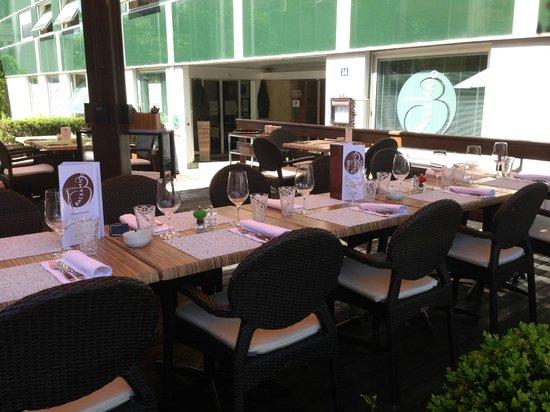 Osteria Balsamico : La terrasse avec ses 30 places