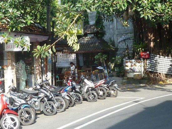 Street outside Dewangga Bungalow