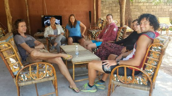 Bird Nest Backpackers : Our Visitors Relaxing
