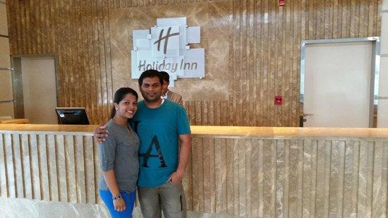 Holiday Inn Cochin : CYRUS AND LEERA