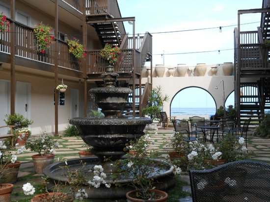 Ocean Beach Hotel: Hotel Courtyard