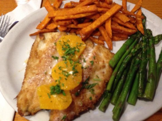 Winchell's Restaurant & Sports: Almond Crusted Trout