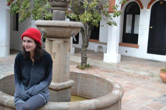 Hostal Colonial : Pátio interno