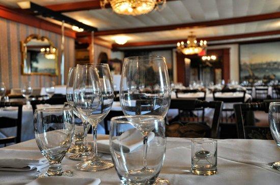 The Robert Morris Inn: Casual Dinner Setup - photo credit Taminator