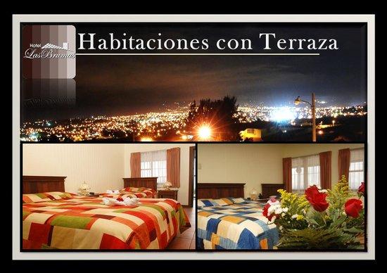 Hotel Las Brumas: Habitaciones de Terraza