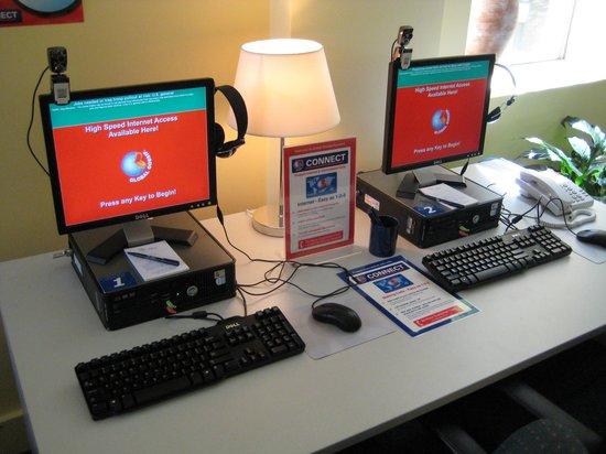 DeVere Hotel : Internet Kiosk & Wifi Connections