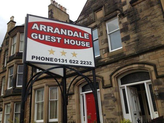 Arrandale Guest House: Out front