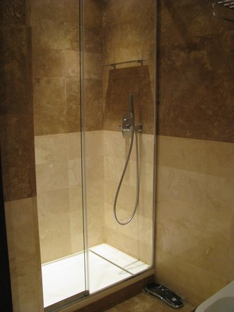Hotel Alpi: Shower