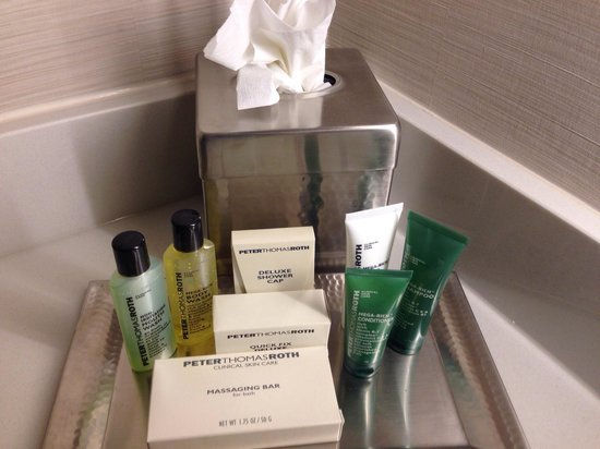 Hilton Albany : Bathroom goodies!