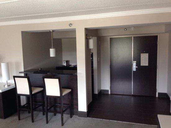 Hilton Albany: Hospitality Suite 1415