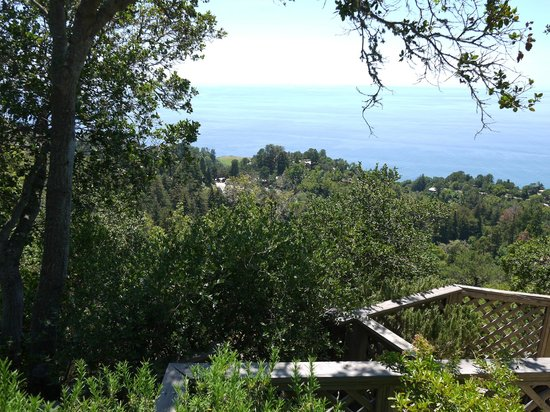 Nepenthe : View From The Lower Deck