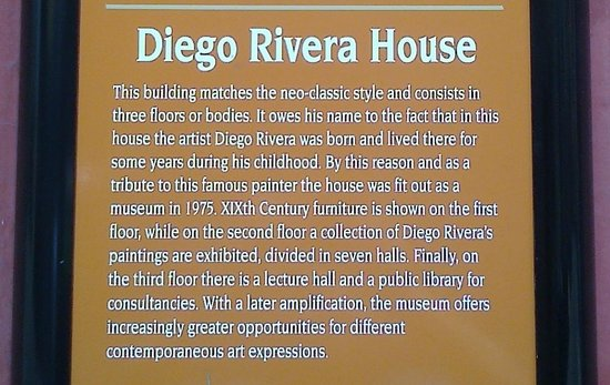 Diego Rivera Museum and Home (Museo Casa Diego Rivera): Brief description of Diego Rivera´s house