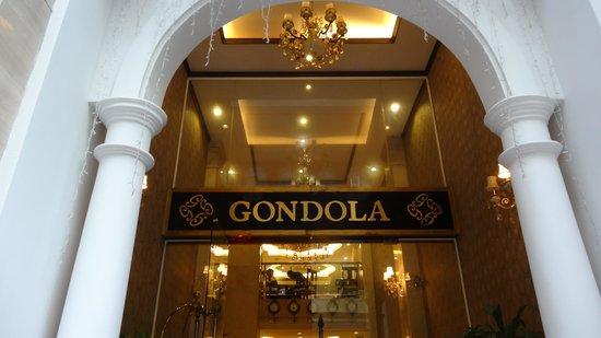 Gondola Hotel : Entrance