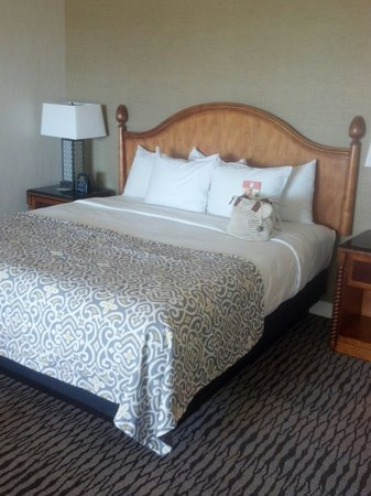 The Fess Parker - A Doubletree by Hilton Resort : The bed and linens were very comfortable as well.