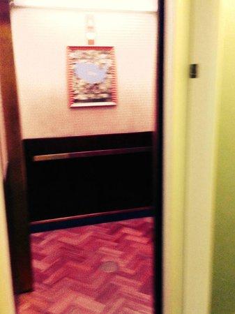 Hotel Triton : Elevator
