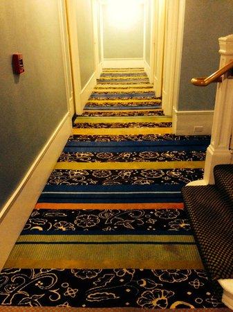 Hotel Triton: Corridor