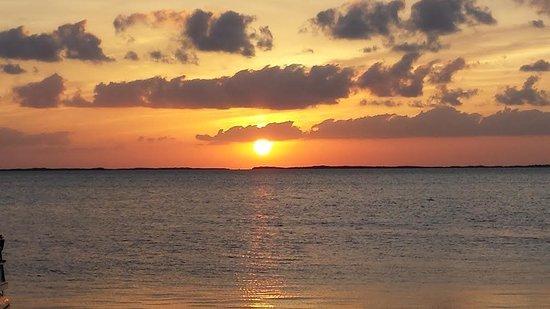 Snook's Bayside Restaurant: Beautiful sunset