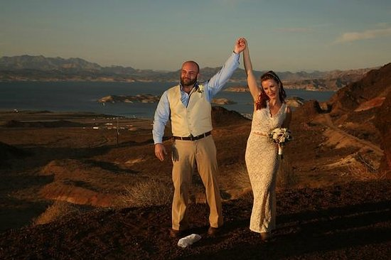 "Scenic Las Vegas Weddings Chapel: Just said ""I do!"""