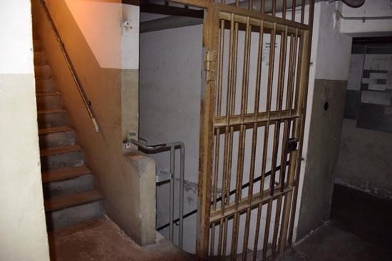 NS-Dokumentationszentrum: jails entrance EL-DE Haus