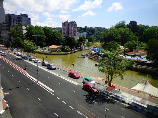 The Brunei Hotel: View from Brunei Hotel, Brunei