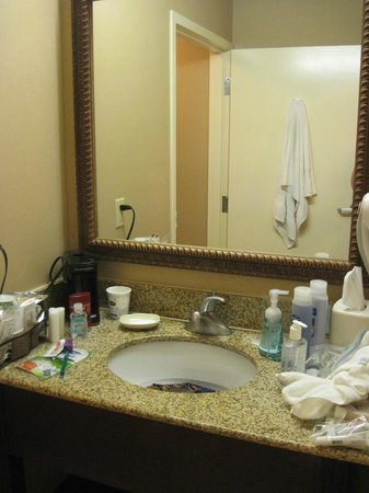 Hampton Inn Arkadelphia: Vanity area