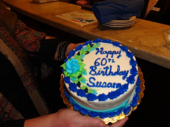 Salem Waterfront Hotel & Suites : My birthday cake from Ryan