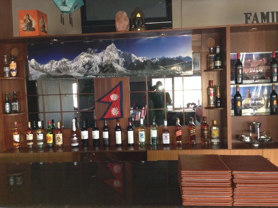 The Darbar Indian Nepalese Restaurant: Bar in Darbar pls come to try.