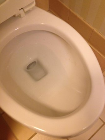 Fairfield Inn & Suites by Marriott Fairmont: Hair or toilet slime upon check in