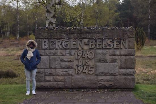 Dokumentationszentrum KZ Bergen-Belsen: entrance