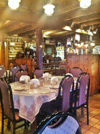 Edelweiss Restaurant: view from our table