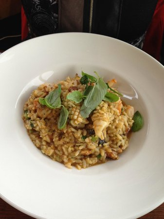 Mrs Jones Restaurant Bar Lounge : Seafood Risotto