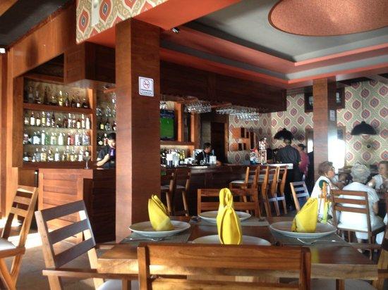 Lima 12 05 Peruvian Cuisine & Steak House: Interior of Restaurant