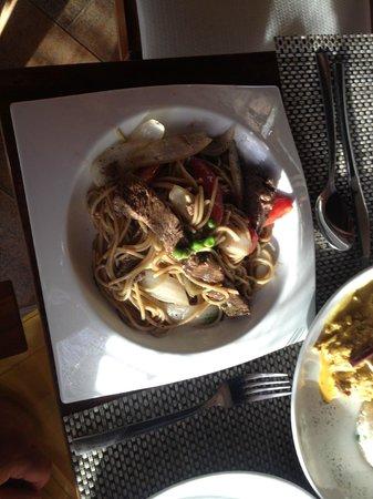 Lima 12 05 Peruvian Cuisine & Steak House: Lomo Soltado (Pork)