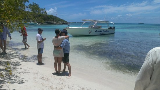 Creole Cruises Antigua: Our ride for the day