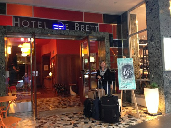 Hotel DeBrett : Sad our stay was so short!