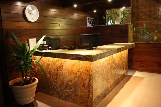 Hotel Porto Allegro: Recepcion