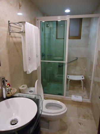 Hotel Porto Allegro: Baño