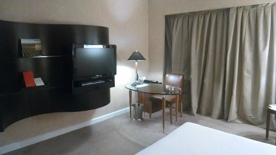 Park Hyatt Mendoza : Tv and business area