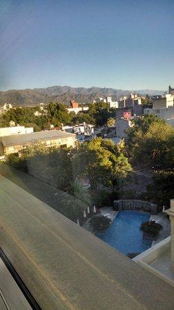 Park Hyatt Mendoza : View from room, 6th floor