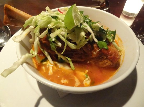 Crow Restaurant & Bar : lamb shank stew