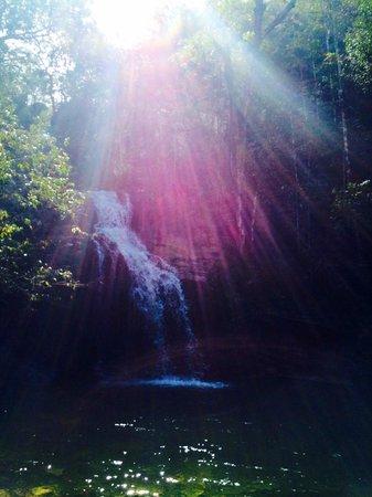 Abade Waterfall: Cachoeira Lagoa Azul - 1200m da recepção