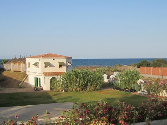 El Mouradi Palm Marina: The view from the balcony in our second room.