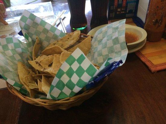 El Cejas : Appetizers of Chips & Fresh Pico De Gallo & Salsas