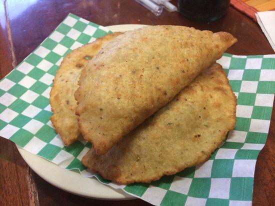 El Cejas : Cheese & Shark Empanadas