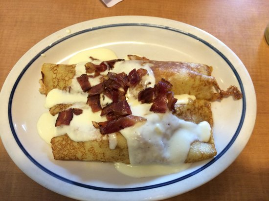 IHOP: Panquecas de queijo com bacon