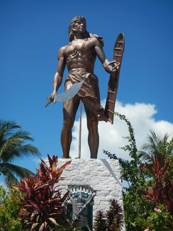 Lapu Lapu Statue: lapu lapu shrine